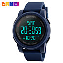 cheap Earrings-Men's Sport Watch Smartwatch Wrist Watch Digital 30 m Water Resistant / Water Proof Calendar / date / day Chronograph Silicone Band Digital Charm Fashion Dress Watch Multi-Colored - Black Green Blue