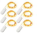 preiswerte LED Lichtstreifen-12m Leuchtgirlanden 120    20*6 LEDs Warmes Weiß / Weiß / Mehrfarbig Batterie