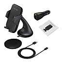Buy Fast Car Wireless Charger 10.8W Charge Vehicle-mounted Holder Samsung S8 S7 edge S6 Plus Note5 Qi Smartphone