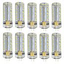 رخيصةأون جسم السيارة الديكور والحماية-10pcs 3 W أضواء LED Bi Pin 180 lm G4 T 81 الخرز LED SMD 3014 أبيض دافئ أبيض كول 85-265 V / 10 قطع