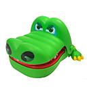 baratos Cabos & Adaptadores para iPhone-Dentista De Crocodilo Antiestresse Crocodilo Tubarão Diversão Música e luz Tamanho Grande Mordida de mão de Criança Unisexo Brinquedos Dom