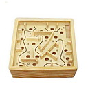 hesapli Oyun Oyuncakları-Ahşap labirent Masa Oyunları Toplar Luban Kilidi Tahta Parçalar Unisex Yetişkin Hediye