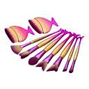 abordables Maquillage & Soin des Ongles-9pcs Pinceaux à maquillage Professionnel ensembles de brosses Poil Synthétique / Pinceau en Fibres Synthétiques Moderne / Elégant &