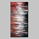 ieftine USB Flash Drives-Hang-pictate pictură în ulei Pictat manual - Abstract Abstract Modern Fără a cadru interior / Canvas laminat