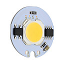 cheap LED Bi-pin Lights-9W Round COB Led Chip Smart IC AC 220V for DIY Ceiling Light Downlight Spotlight  Warm/Cold White (1 Piece)