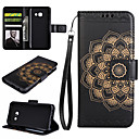 cheap Galaxy A Series Cases / Covers-Case For Samsung Galaxy A5(2017) / A3(2017) Wallet / Card Holder / with Stand Full Body Cases Mandala Hard PU Leather for A3(2017) / A5(2017) / A7(2017)