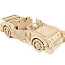 رخيصةأون 3D الألغاز-لعبة سيارات قطع تركيب3D تركيب طيارة سيارة اصنع بنفسك خشبي كلاسيكي للجنسين للصبيان ألعاب هدية
