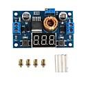 hesapli Ekranlar-5a 75w xl4015 dc-dc dönüştürücü ayarlanabilir basamak modülü