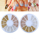 cheap Makeup & Nail Care-1 pcs Nail Jewelry nail art Manicure Pedicure Daily Fashion