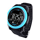 cheap Earrings-Men's Sport Watch Military Watch Smartwatch Digital 30 m Water Resistant / Water Proof Alarm Calendar / date / day Silicone Band Digital Charm Luxury Bangle Multi-Colored - Black Orange Blue
