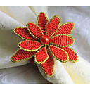 cheap Makeup & Nail Care-Metal Napkin Ring Patterned Eco-friendly Table Decorations