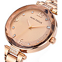 cheap Women's Watches-Women's Wrist Watch Creative / Casual Watch / Cool Stainless Steel Band Charm / Luxury / Casual Silver / Gold / Rose Gold / Two Years / Maxell SR626SW
