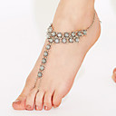 cheap Hair Jewelry-Anklet Barefoot Sandals - Gold Plated Unique Design, Vintage, Bohemian Silver For Christmas Gifts Daily Casual Women's