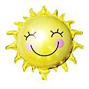 hesapli Fırın Araçları ve Gereçleri-65cm * 65cm ayçiçeği güneş gülen güneş alüminyum folyo balonlar