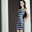baratos Garrafas de água-Vestidos Vestidos Para Boneca Barbie Mistura de Seda / Algodão Vestido Para Menina de Boneca de Brinquedo