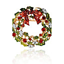cheap Brooches-Synthetic Diamond Brooches - Brooch Assorted Color For Christmas / Gift