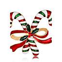 저렴한 브로치-여성용 브로치 - 로즈 골드 도금 숙녀, 패션 브로치 보석류 무지개 제품 크리스마스 / 새해