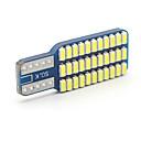 baratos Lâmpadas de LED para Carros-SO.K 10pçs T10 Carro Lâmpadas 3 W SMD 3014 300 lm 33 Iluminação interior For Universal Todos os Anos