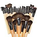 hesapli Makyaj ve Tırnak Bakımı-32pcs Makyaj fırçaları Profesyonel Fırça Setleri / Allık Fırçası / Far Fırçası Tatlı / Tam Kaplama Kayın Ağacı / Alüminyum