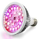 hesapli Aksesuarlar-1pc 18 W 100-150 lm E26 / E27 Büyüyen ampul 24 LED Boncuklar Yüksek Güçlü LED Sıcak Beyaz / Beyaz / Kırmızı 85-265 V / 1 parça / RoHs / FCC