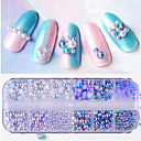 cheap Makeup & Nail Care-1box Glitter Powder Nail Jewelry Pearls Professional / Lovely nail art Manicure Pedicure Daily / Party & Evening Fashionable Jewelry / Luxury / Accessories