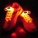 cheap Incandescent Bulbs-HKV 1 pc LED Night Light LED Shoe Lace Pink Blue Green White RGB Battery Decorative