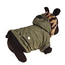 preiswerte Hundehalsbänder, Geschirre & Leinen-Hund Kapuzenshirts Hundekleidung Solide Grün Daune / Baumwolle Kostüm Für Haustiere Lässig / Alltäglich