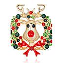 رخيصةأون مجوهرات الجسم-للمرأة دبابيس - موضة بروش ألوان متنوعة من أجل عيد الميلاد / هدية