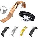 hesapli Nokia İçin Ekran Koruyucuları-Watch Band için Gear S3 Frontier / Gear S3 Classic / Gear S3 Classic LTE Samsung Galaxy kelebek Toka Paslanmaz Çelik / Altın Kaplama Bilek Askısı