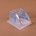 hesapli Makyaj ve Tırnak Bakımı-1 pcs Nail Art Aracı kristaller Tırnak Araçları şablon 3D tırnak sanatı Manikür pedikür Moda Günlük / Delik / Kazıyıcı / çizim Araçları