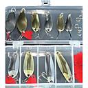 ieftine Momeală Pescuit-31 pcs Linguri Momeală metalică Aliaj metalic Plutire Scufundare Pescuit mare Aruncare Momeală Pescuit la Copcă / Momeală pescuit / Pescuit în General / Pescuit cu undițe tractate & Pescuit din barcă
