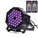 tanie Oświetlenie LED sceniczne-U'King 36W 36 Diody LED Oświetlenie sceniczne LED Fioletowy AC100-240