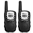 halpa Bracelet-T-388 Käsin pidettävä / Analoginen VOX / CTCSS / CDCSS 3KM-5KM 3KM-5KM 22CH 0.5W Radiopuhelin Kaksisuuntainen radio
