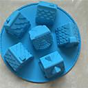 hesapli Fırın Araçları ve Gereçleri-Bakeware araçları Silika Jel Pişirme Aracı / Noel / Kendin-Yap Pişirme Kaplar İçin / Ekmek / Çikolata Pasta Kalıpları