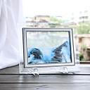 hesapli El Sanatları Gereçleri-1 adet ev dekorasyonu cam quicksand yaratıcı akış manzara boyama doğum günü hediyeleri ofis oturma odası 3d kum saati dekorasyon
