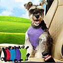 hesapli Köpek Yakalar, Kuşaklar ve Kayışlar-Kedi Köpek Köpek Oto Koltuğu Tasması / Köpek Emniyet Kemeri Ayarlanabilir Solid Naylon Siyah Mor Mavi