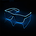 رخيصةأون مصابيح ليد مبتكرة-1PC وامض أدى النظارات مضيئة حزب ديكور الإضاءة الكلاسيكية هدية ضوء مهرجان مشرق هدية