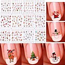 cheap Makeup & Nail Care-Water Transfer Decals Fashion Nail Art Design Daily