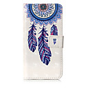 cheap Makeup & Nail Care-Case For Samsung Galaxy J7 (2017) J3 (2017) Card Holder Wallet with Stand Flip Pattern Full Body Cases Dream Catcher Hard PU Leather for