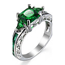 cheap Women's Watches-Women's Cubic Zirconia Geometrical Knuckle Ring Engagement Ring - Zircon Luxury, Classic, Fashion, Elegant Jewelry Rose Pink / Green / Blue For Wedding Party Birthday Graduation Engagement Masquerade