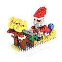 رخيصةأون أدوات الحمام-أحجار البناء 180 pcs بدل سانتا بابا نويل عطلة بدل سانتا متوافق Legoing Non Toxic عيد الميلاد ألعاب هدية