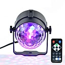 ieftine Lumini LED de Scenă-1set 3W 250lm 3 LED-uri Telecomandă Intensitate Luminoasă Reglabilă Ușor de Instalat Etapa de lumină RGB Rezidențial