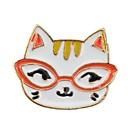 preiswerte Zubehör zum Zeichnen und Schreiben-Damen Broschen - Katze, Tier Hip-Hop Brosche Gold Für Alltag / Ausgehen