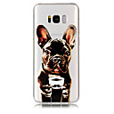 billige Etuier / covers til Galaxy S-modellerne-Etui Til Samsung Galaxy S8 Plus / S8 Transparent / Mønster Bagcover Hund Blødt TPU for S8 Plus / S8 / S7 edge