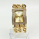 ieftine Becuri LED Bi-pin-Pentru femei femei Ceasuri de lux Ceas La Modă Ceas Brățară Japoneză Quartz Auriu 30 m Ceas Casual Analog Sclipici - Auriu Doi ani Durată de Viaţă Baterie / Sony SR626SW
