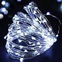 hesapli LED Şerit Işıklar-BRELONG® 2m Dizili Işıklar 200 LED'ler Dip Led Kırmızı / Sarı / Pembe Su Geçirmez 1pc