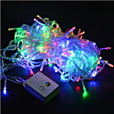 hesapli LED Şerit Işıklar-20m Dizili Işıklar 200SMD LED'ler Sıcak Beyaz / RGB / Beyaz Su Geçirmez / Renk Değiştiren 220 V / IP44