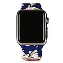 hesapli Köpek Giyim ve Aksesuarları-Watch Band için Apple Watch Series 3 / 2 / 1 Apple Spor Bantları Silikon Bilek Askısı