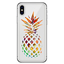 cheap iPhone Cases-Case For Apple iPhone X iPhone 8 Plus Pattern Back Cover Fruit Soft TPU for iPhone X iPhone 8 Plus iPhone 8 iPhone 7 Plus iPhone 7 iPhone