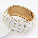 ieftine Ceasuri Damă-Pentru femei Brățări Bangle praf de stele femei Vintage Modă Supradimensionat Aliaj Bijuterii brățară Auriu / Argintiu Pentru Petrecere Cadou